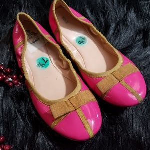 🎁 Sole Society Pink Bow Ballet Flats. SALE
